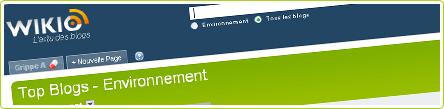 wikio-environnement