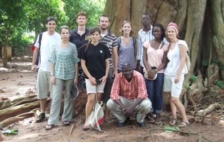 L'équipe 2011 du projet vi et Boulevard du Bonheur