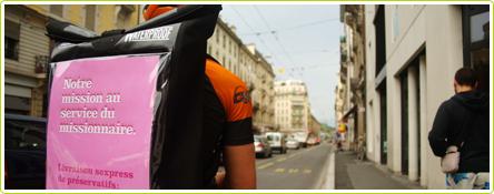 Suisse : des coursiers à vélo qui livrent des préservatifs