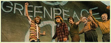 Première victoire pour Greenpeace en 1972 : arrêt des essais nucléaires à Amchitka en Alaksa