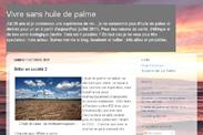 Le blog : vivre sans huile de palme