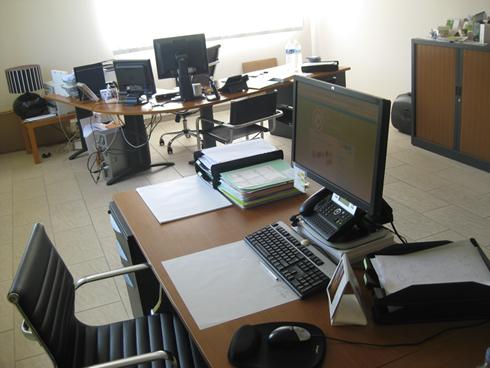 Le bureau de l'éco-blog