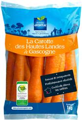 Les carottes Planète Végétal offertes aux Restos du Coeur