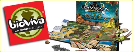 Bioviva offre 1 jeu de société Cro-Magnon Rrrévolution