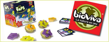 Découvrez les jeux de société de la gamme Ti'bois de Bioviva