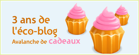3 ans de l'éco-blog : une avalanche de cadeaux