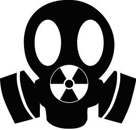 Un masque à imprimer et à découper pour votre manifestation anti-nucléaire