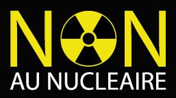 """Télécharger l'illustration vectorielle """"NON au nucléaire"""" au format .eps"""