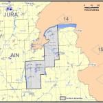 Les zones concernées par le permis Gex Sud