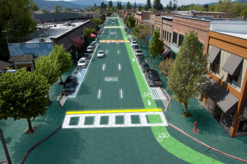 Photo du projet Solar RoadWays, la Route du Futur