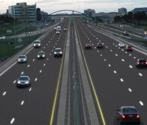 L'autoroute vue Par Solar Roadways