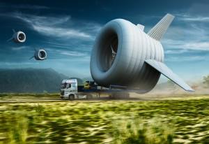 Déplacement d'une éolienne volante Altaeros