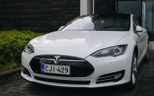 La Model S de Tesla © Henri Kotka
