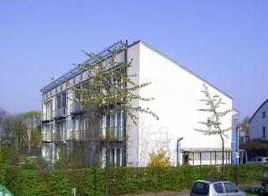 Maison passive à Darmstadt en Allemagne.