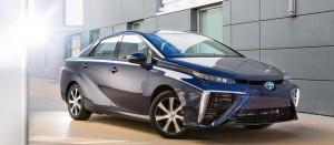 La Mirai à hydrogène de Toyota