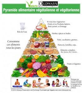 Pyramide alimentaire des vegétariens