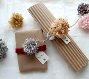 paper flower valentines