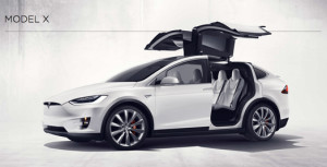 Tesla model X location