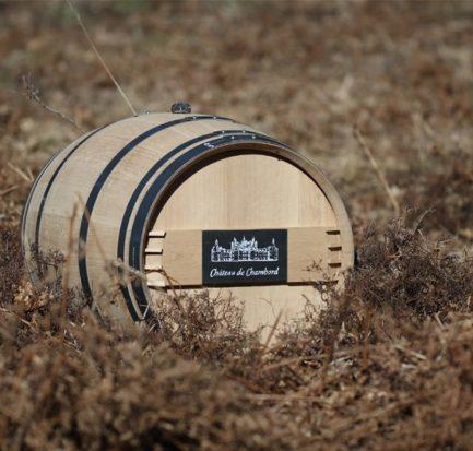 Fûts en chêne certifié PEFC du chateau de chambord